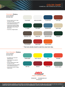DBCI Color Chart