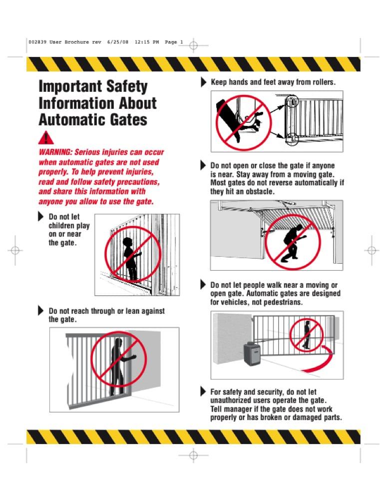 Automatic Gate Automatic Gate Won T Close