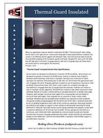 Thermal Guard Door Specs 2