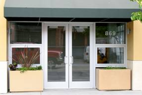 Glass Aluminum Storefront Doors Serving The Bay Area