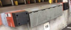 edge of dock molded bumper