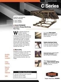 pioneer c series brochure