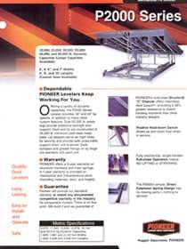 pioneer p2000 brochure